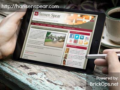 Hansen-Spear Funeral Home Website